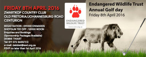 Endangered Wildlife Trust Annual Golf Day